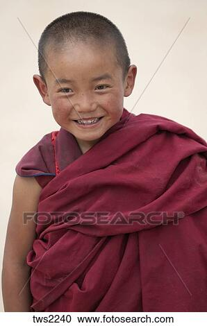 buddhist monk children