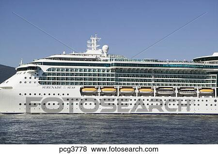 Pictures Of Serenade Of The Seas Cruise Ship Leaving