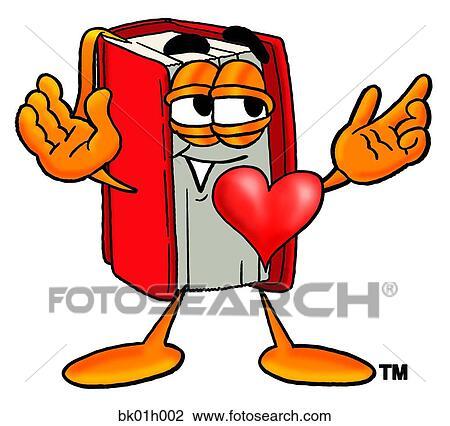 Clipart libro con cuore bk01h002 cerca clipart for Clipart cuore