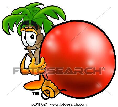 Clipart palmier d coration pt01h021 recherchez des clip arts des illustrations des - Palmier clipart ...