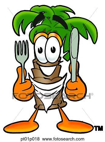 Clipart palmier manger pt01p018 recherchez des cliparts des illustrations des dessins et - Palmier clipart ...