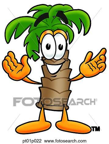Clipart palmier bras ouvrent pt01p022 recherchez des clip arts des illustrations des - Palmier clipart ...