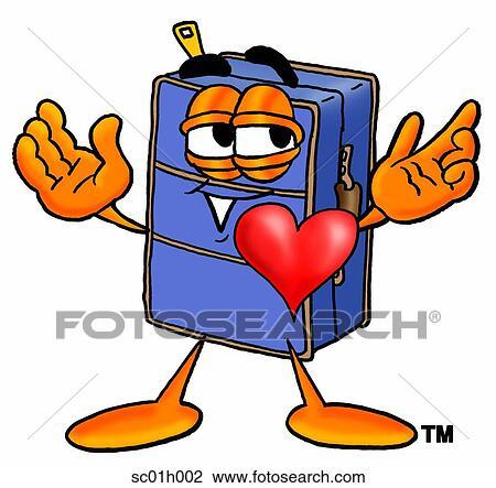 Clipart valigia con cuore sc01h002 cerca clipart for Clipart cuore