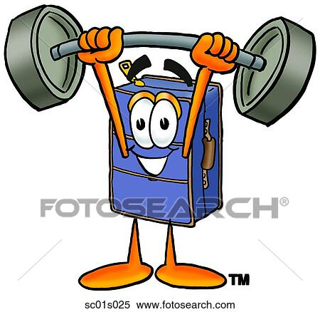 clipart of suitcase lifting weights high sc01s025 search clip art rh fotosearch com weightlifting clipart weightlifting clipart gif