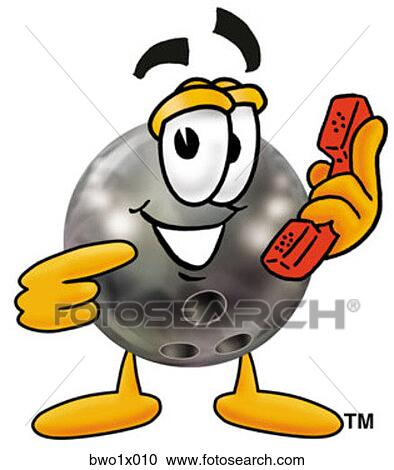 Clipart boule bowling t l phone bwo1x010 recherchez des clip arts des illustrations - Bowling dessin ...