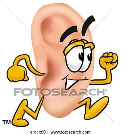 Clipart oreille courant ero1x001 recherchez des clip - Clipart oreille ...