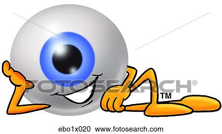 clipart of eye ball relaxing ebo1x020 search clip art rh fotosearch com person relaxing clipart relaxing clip art free