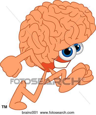 Cartoon brain Stock Illustration Images. 1,978 cartoon brain ...