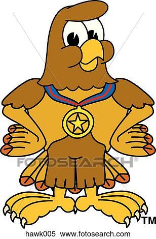 Hawk mascot Illustrations and Stock Art. 167 hawk mascot ...