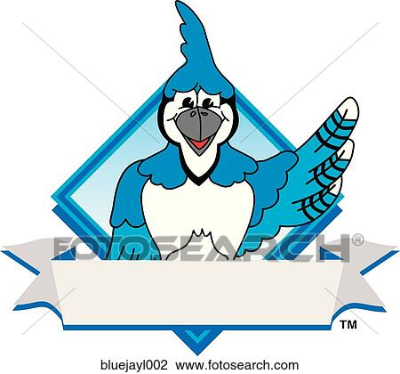 clip art of blue jay logo design graphic 2 bluejayl002 search rh fotosearch com blue jay clipart black and white blue jay clipart free