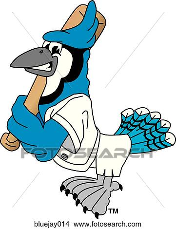 Drawings of Blue Jay playing Baseball bluejay014 - Search Clip Art ...