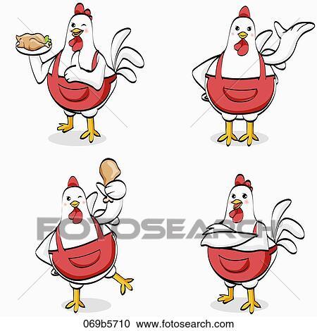 Banque d 39 illustrations characterization de cuisinier 069b5710 recherchez des cliparts des for Cuisinier un bras