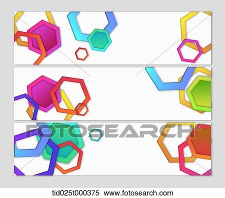 Stock Illustration of illustration of cards with different color ...