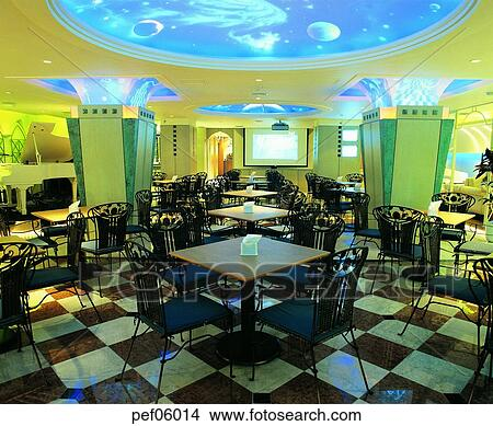 Stock Photo Of Building Construction Cafe Restaurant Commercial Interior Screen Pef06014