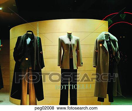 shop, shop, display, winter clothes, store, store, 0833 View Large