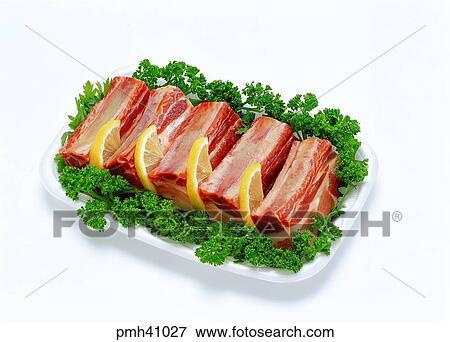 Plato de la olla de cerdo