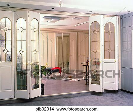 Banco de imagem   sala de estar, interior, sala de estar, meio ...