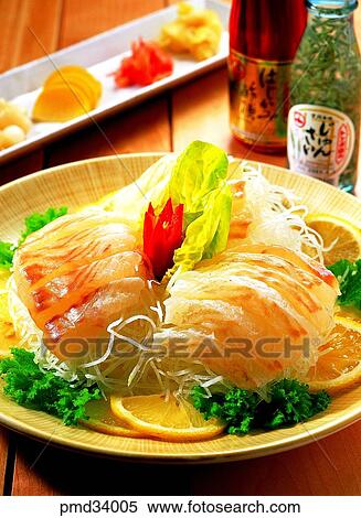 Stock image of flounder sole flounder raw sole fish for Raw fish dish