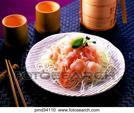 Stock photography of sea eel conger raw conger fish raw for Raw fish dish