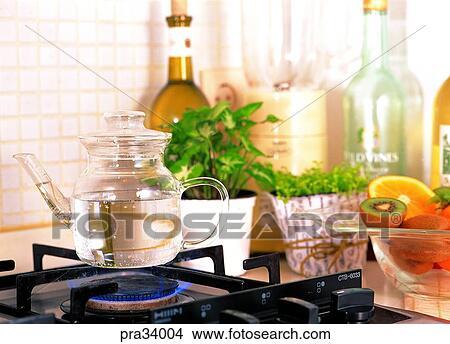 Stock foto lebende leben kueche gas gasbrenner gas for Gasbrenner küche