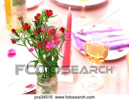 Stock Bilder Blume Blumen Blume Blumenvase Glas