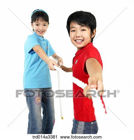 RF 类图片 孩子玩, 在, 拔河 trd014a3381 trd014a3381.JPG