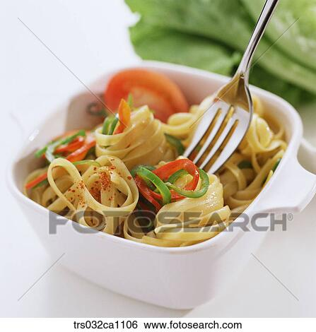 Stock Images of Western food, dish, food, pasta, noodle ...