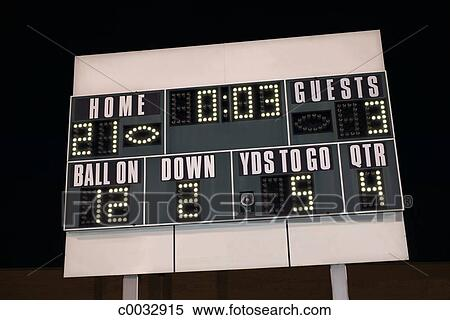 Scoreboard Home Team The Home Team is Winning