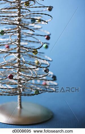stock bild draht weihnachtsbaum d0008695 suche. Black Bedroom Furniture Sets. Home Design Ideas