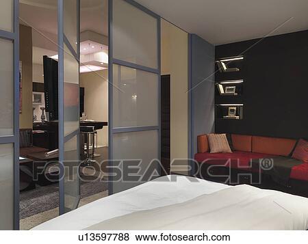 bilder drehen aufteilung zwischen schalfzimmer und wohnzimmer u13597788 suche. Black Bedroom Furniture Sets. Home Design Ideas
