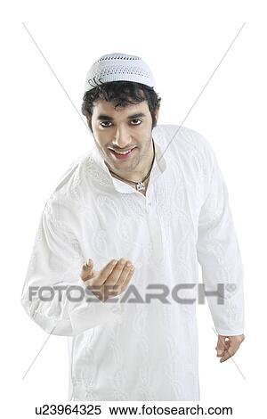 Muslim Man Clipart