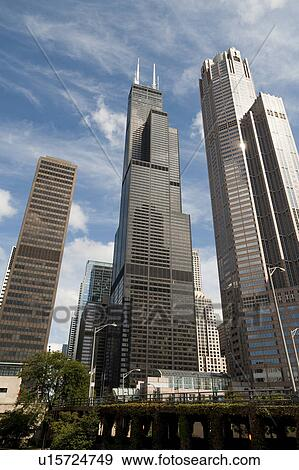 Stock Photograph of Chicago, Sears Tower u15724749 ...