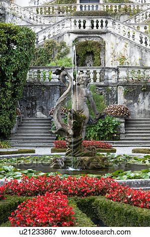 Immagine vista dettaglio di villa carlotta giardini for Cabine spartiacque vista lago fontana