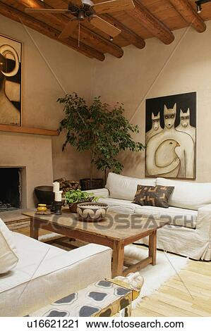 Stock Photography Of Southwest Style Living Room U16621221 Search Stock Photos Pictures