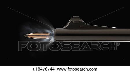 Bild von jugendlich Schuss durch Gewehr