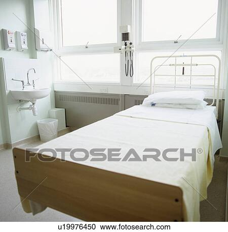 Stock Photography of Empty hospital bed u19976450 - Search ...