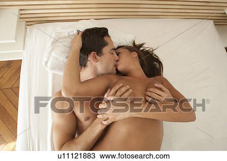 Hairy nude kissing on sofa nude
