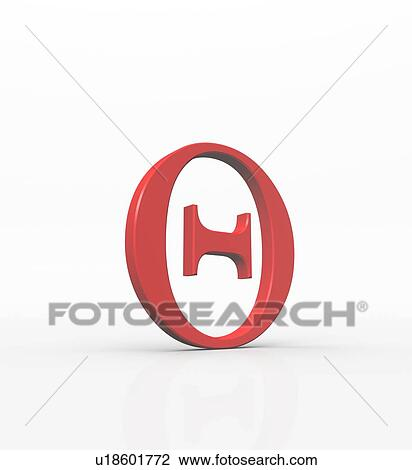 Stock Photo Of Theta Is The Eighth Letter Of The Greek Alphabet And