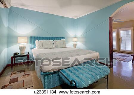 Stockfoto   moderne, soveværelse, interior formgiv u23391134   søg ...