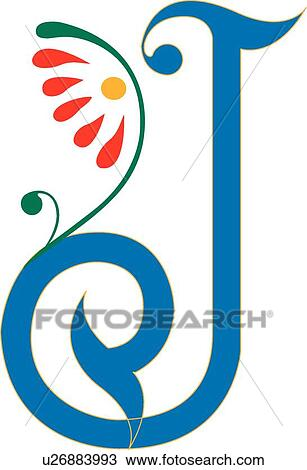 clipart of letter j u26883993 search clip art illustration murals rh fotosearch com fancy letter j clipart letter j clipart free