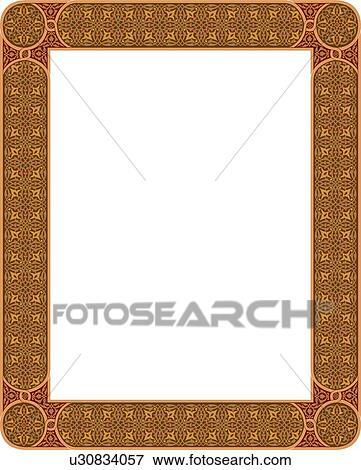 Ornate Gold Frame Border Gold Vintage Frame Ornate Border R Nongzico