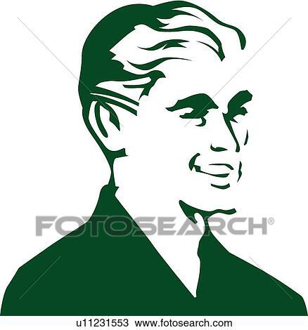 Smiling man View Large Clip Art GraphicSmiling Man Clipart