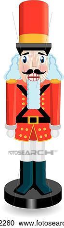 Clipart of Red nutcracker u17922260 - Search Clip Art ...