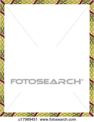 Clipart   Green And Purple Modern Border. Fotosearch   Search Clip Art,  Illustration Murals