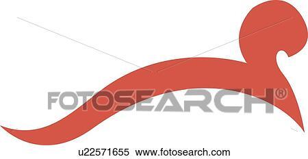 写真素材・動画素材・イラスト素材クリップアート(切り張り)イラスト「絵画」集 - ピンク, 線, ∥で∥, 渦巻