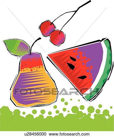 Clipart frutta u28456000 cerca clipart illustrazioni for Clipart frutta