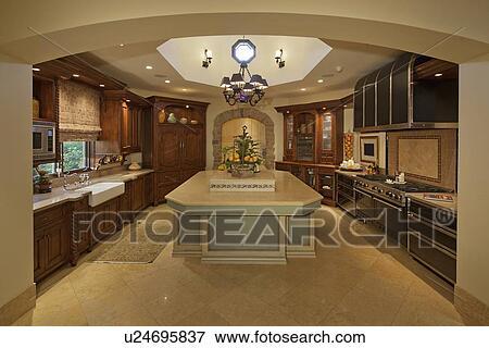 Bilde   klassisk, kjøkken u24695837   søk arkivfotografi, fotoer ...