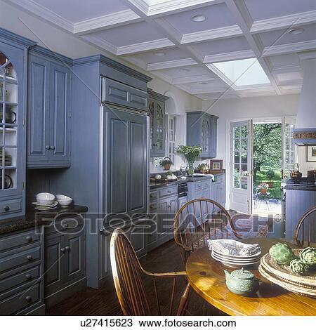 Archivio fotografico cucina classico coloniale - Cucina coloniale ...