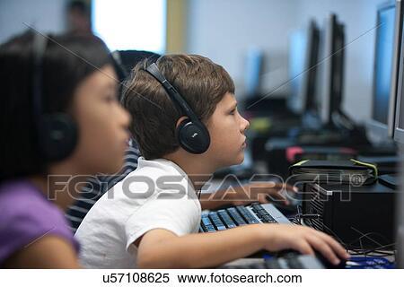 Elementary School Headphones Elementary School in