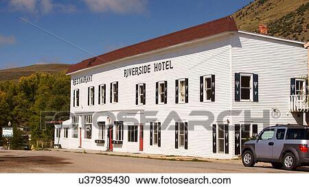 Riverside Hotel Colorado Co Hot Sulphur Springs